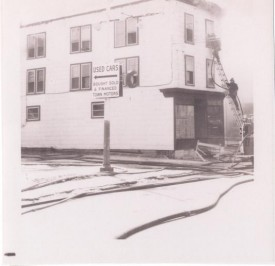 Spring Garden Hotel Fire Early 70's