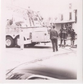 Spring Garden Hotel Fire Early 70's Owings Mills T-313 operating